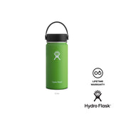 Hydro Flask 16  oz Wide Mouth w/ Flex Cap - Kiwi