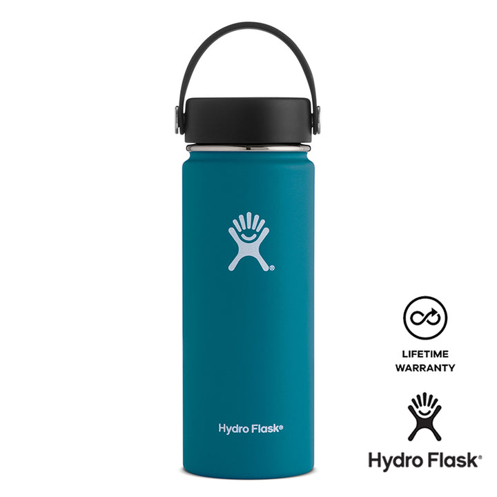 Hydro Flask 18OZ Wide Mouth w/ Flex Cap - Jade