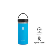 Hydro Flask 16oz Wide Mouth w/ Flex Cap 2.0 - Pacific