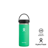 Hydro Flask 16oz Wide Mouth w/ Flex Cap 2.0 - Spearmint