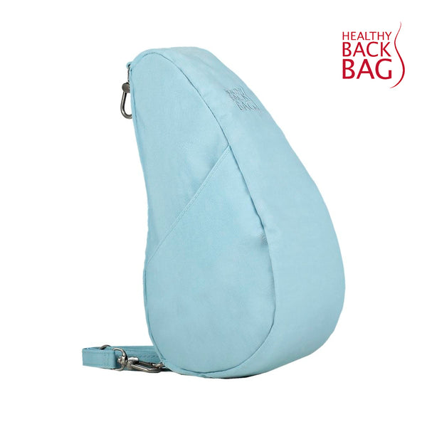 Healthy Back Bag Textured Nylon Large Baglett - Glacier Blue