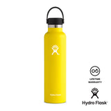 Hydro Flask 24 oz Standard Mouth - Lemon