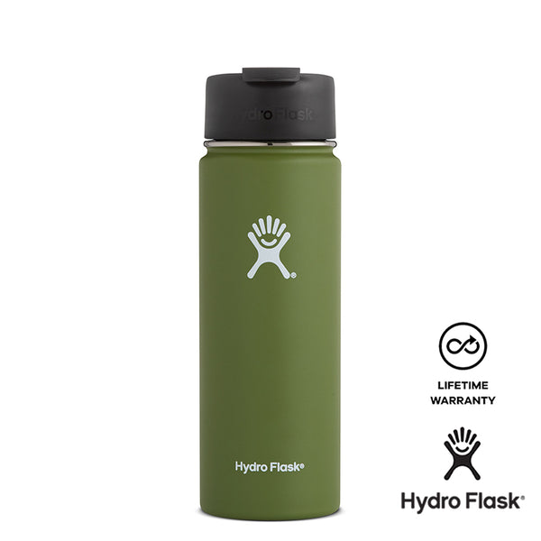 Hydro Flask 20OZ Wide Mouth w/ Flip Lid - Olive