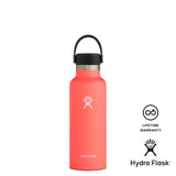 Hydro Flask 18oz Standard Mouth w/ Flex Cap - Hibiscus