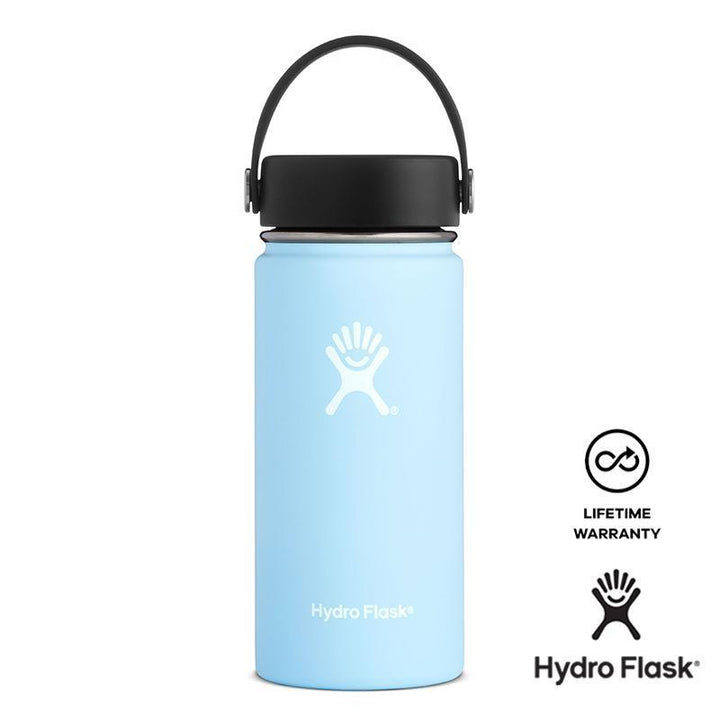 Hydro Flask 16 oz Wide Mouth w/ Flex Cap - Frost