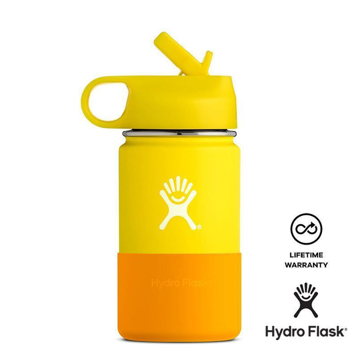Hydro Flask 12 oz Kids Wide Mouth - Yellow
