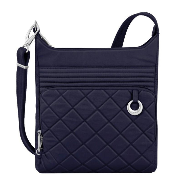 travelon anti theft boho n/s crossbody navy image 1