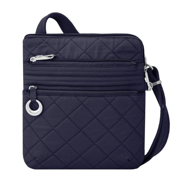 Travelon Anti-Theft Boho Slim Bag - Navy