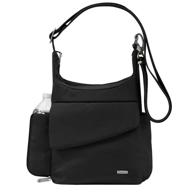 Travelon Anti-Theft Classic Messenger Bag - Black