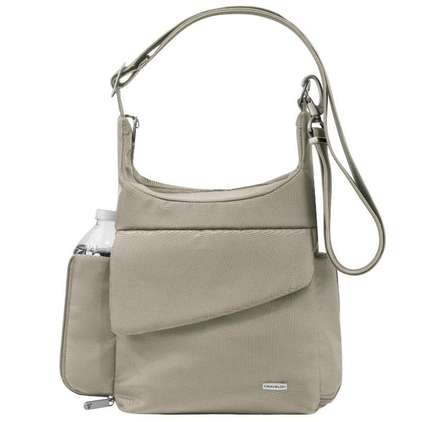 Travelon Anti-Theft Classic Messenger Bag - Stone