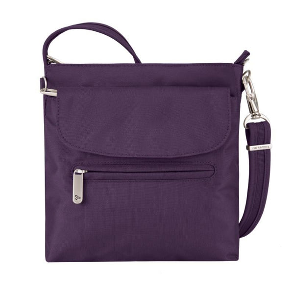 Travelon Anti-Theft Classic Mini Shoulder Bag - Purple