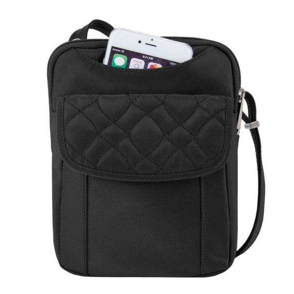 Travelon Anti-Theft Signature Slim Pouch - Black