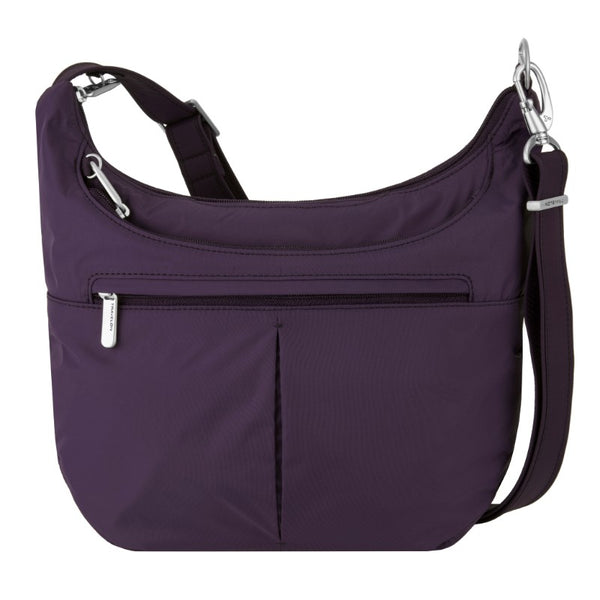 Travelon Anti-Theft Classic Light Slouch Hobo - Purple