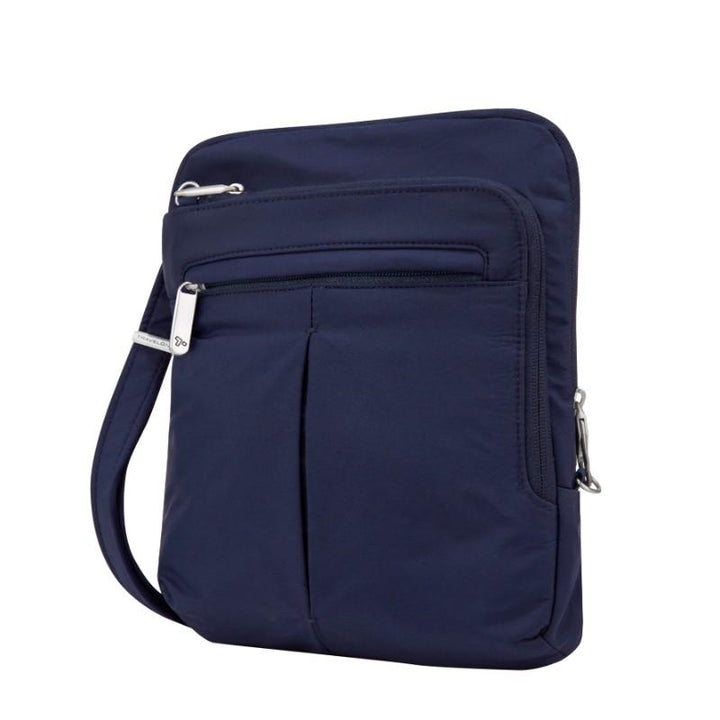 travelon anti theft classic light slim bag lush blue image 1