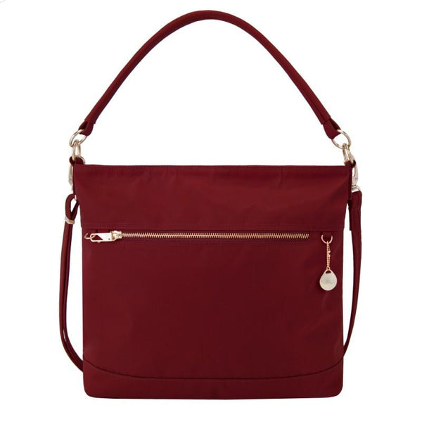 Travelon Anti-Theft Tailored Tote - Garnet