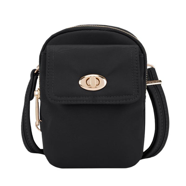 Travelon Anti-Theft Tailored Crossbody - Onyx