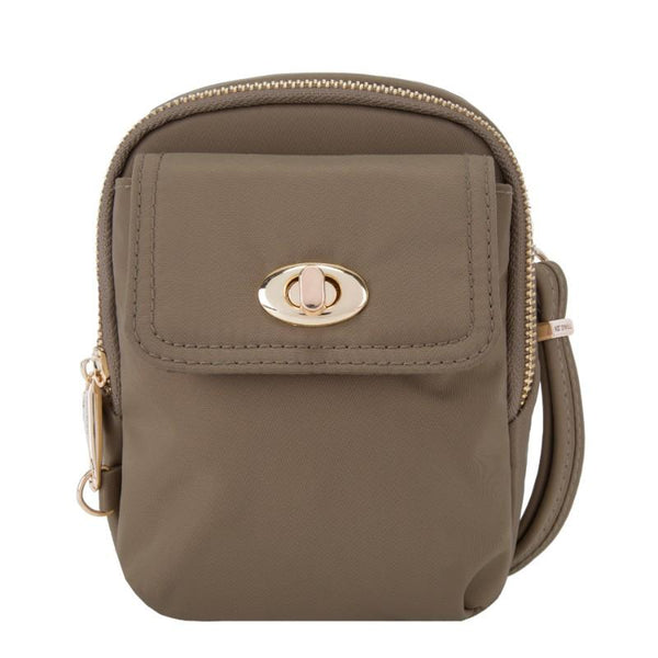 Travelon Anti-Theft Tailored Crossbody - Sable
