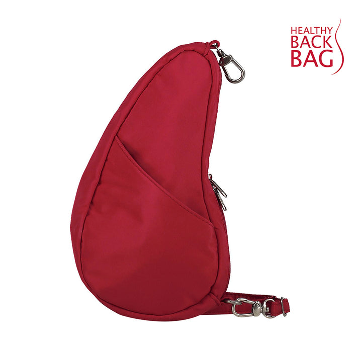 Healthy Back Bag Textured Nylon Large Baglett - Red
