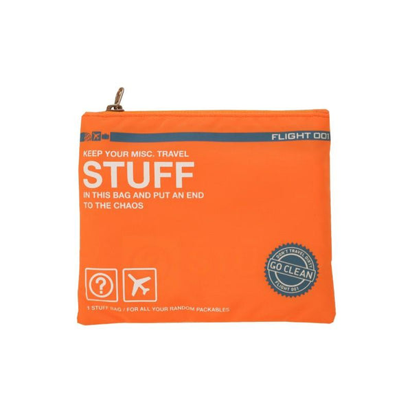 Flight 001 Stuff Bag - Orange
