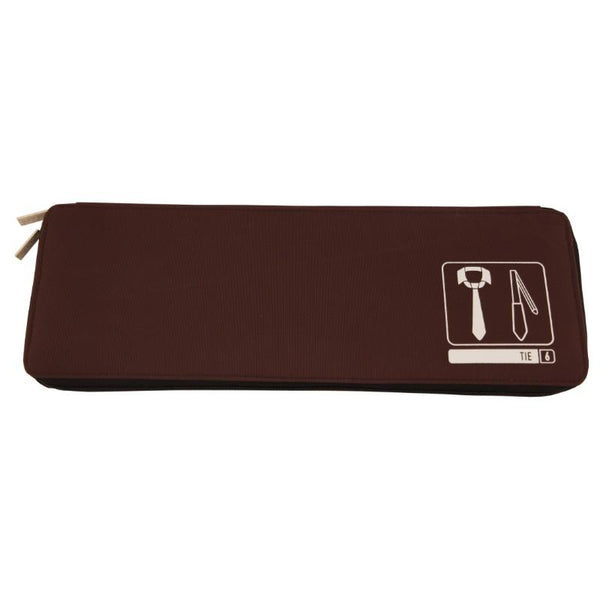 Flight 001  Spak Tie Case - Brown