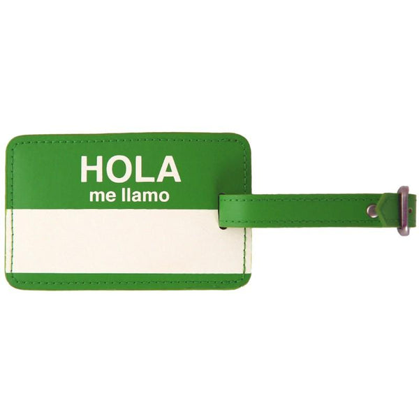 Flight 001  Hola Lug Tag - Green
