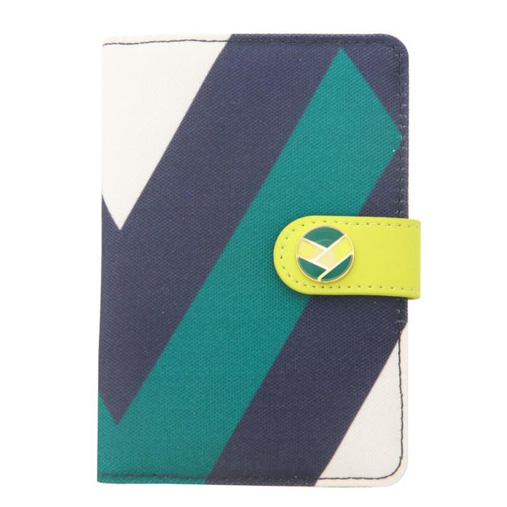 Flight 001 Ste Passport Cover - Runway Prt/Celery 1