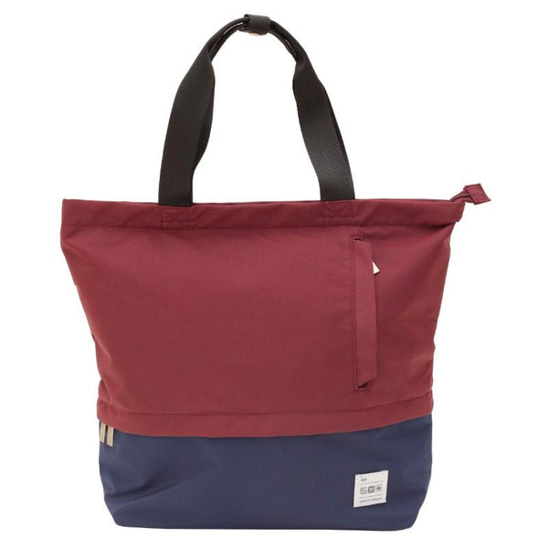 Flight 001  Stowaway Tote - Burgundy/Midnight