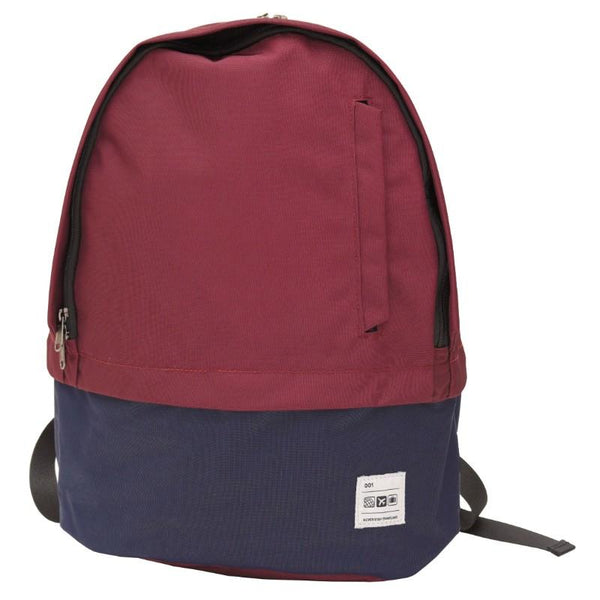 Flight 001 Stowaway Backpack - Burgundy/Midnight
