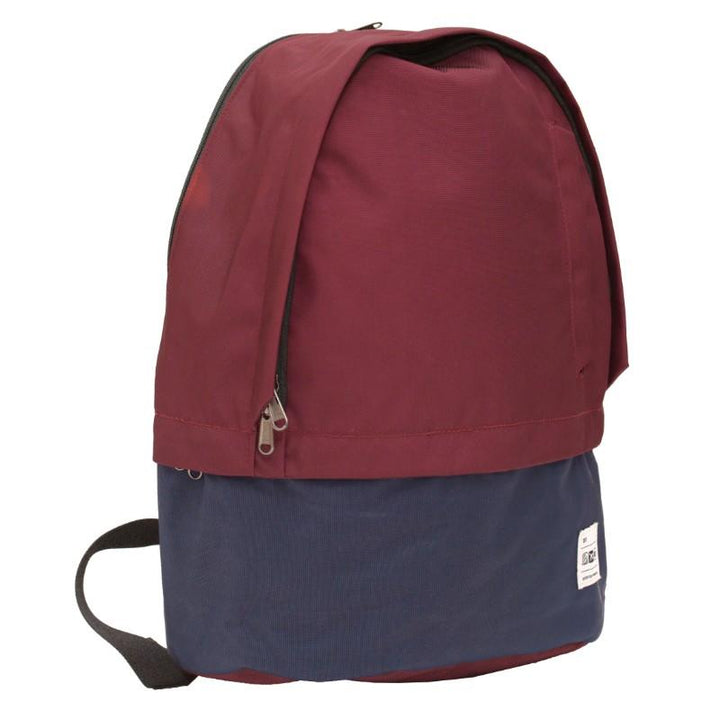 Flight 001 Stowaway Backpack - Burgundy/Midnight 2