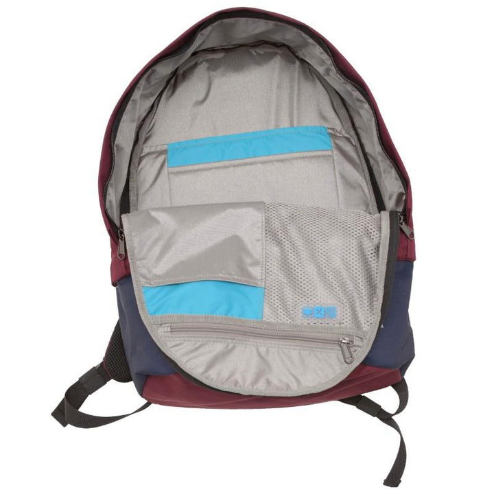 Flight 001 Stowaway Backpack - Burgundy/Midnight 4