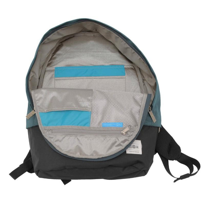Flight 001  Stowaway  Backpack - Teal/Black 6