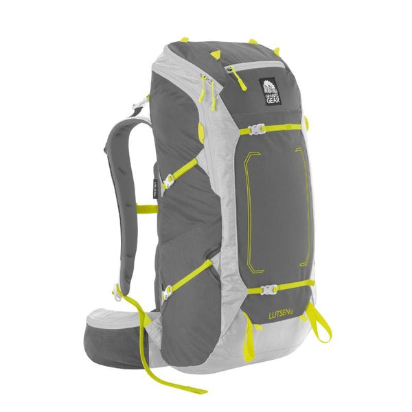 Granite Gear Lutsen 35L Pack-Sm/Md - Flint/Chromium/Neolime