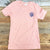 Coral Pocket Ladies Tee