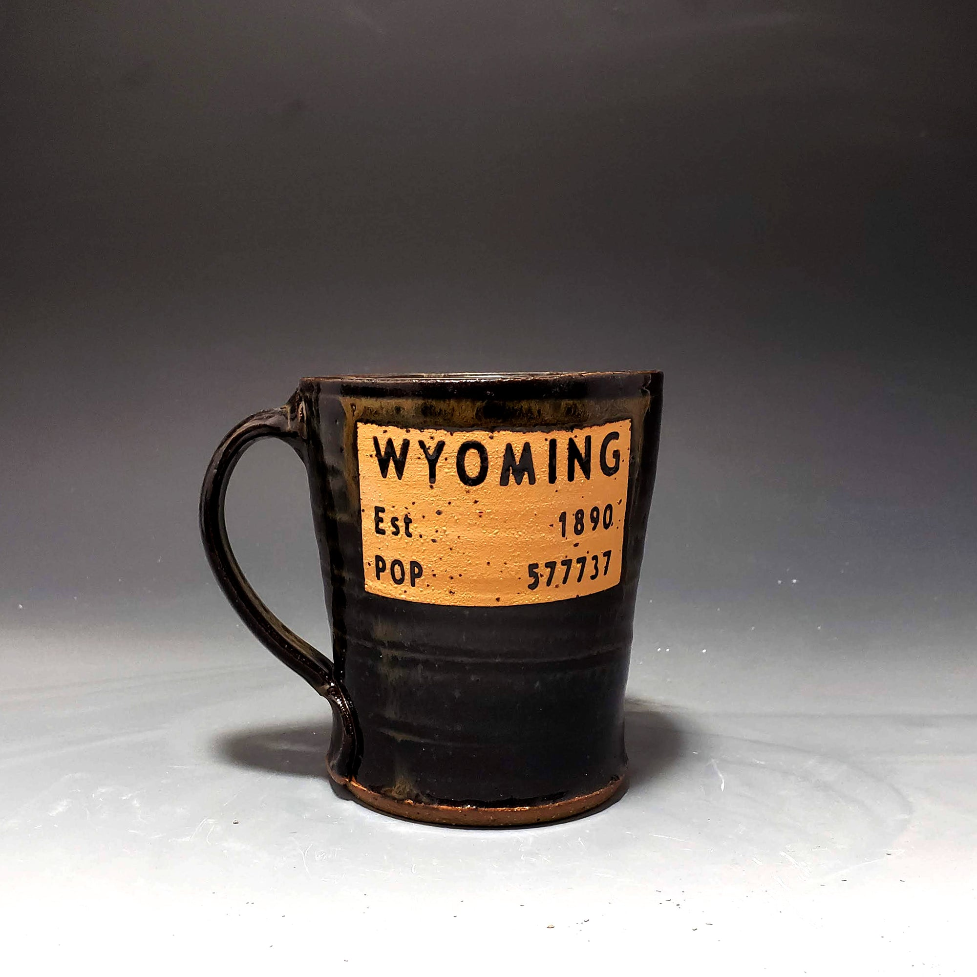 Wyoming Brown and Gold