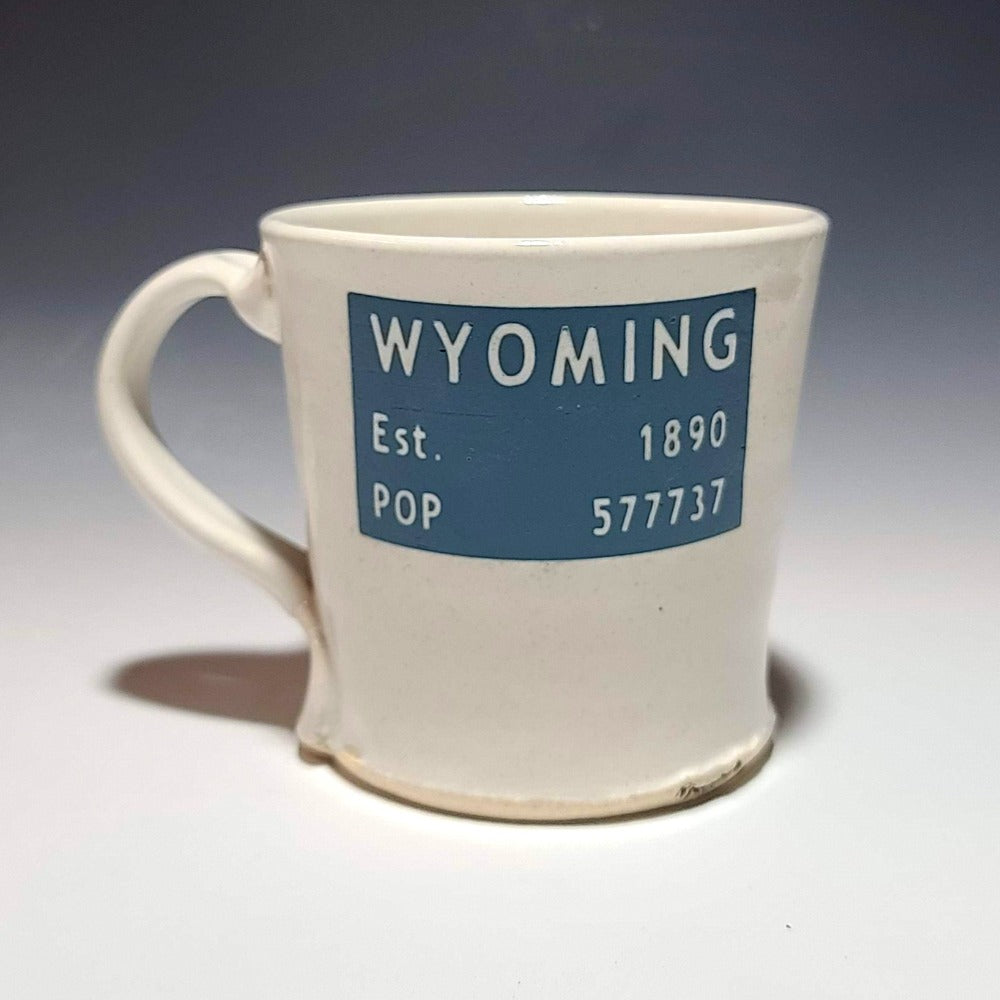 Wyoming Population Mug