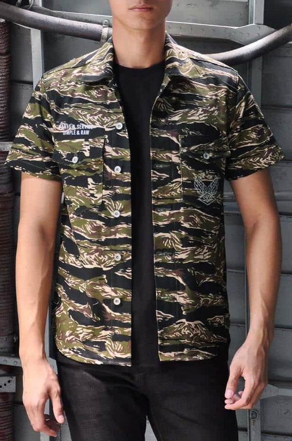 SL707 TigerCamo Short