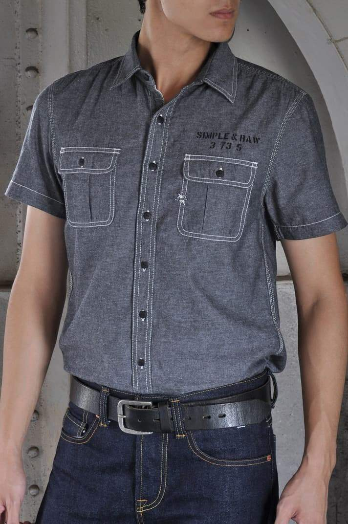 SL706 Marine Chambray (Short)