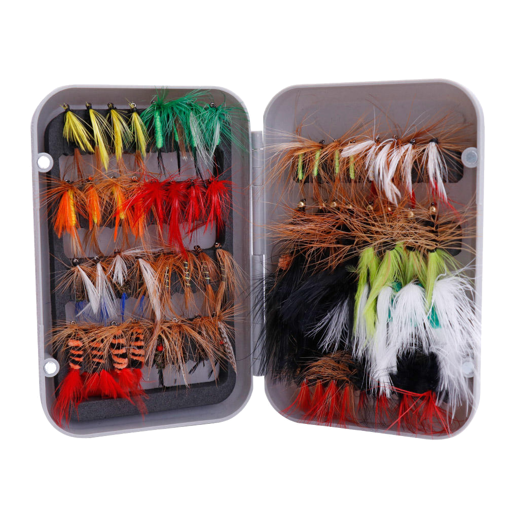 64 Wet'n'Dry BEST-CATCHING Fly Collection