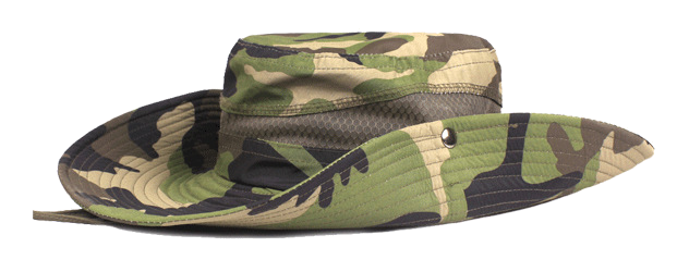Tough Camouflage AUSSIE Fisherman's Hat