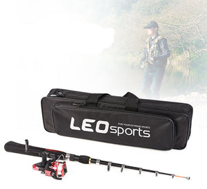 The 'Intermediate' Rod and Reel Combo with FREE Deluxe Carry Case