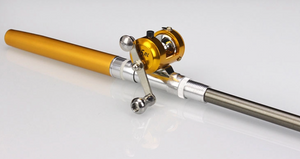 The 'Take Anywhere' Micro Pen Rod and Reel Set