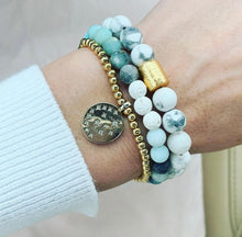 Load image into Gallery viewer, Howlite Bracelet