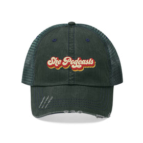 Retro Logo - Unisex Trucker Hat