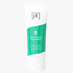 Aloe + Green Tea Exfoliating Cleanser With Salicylic + Lactic Acids