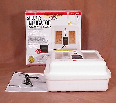 Egg Incubator Hatching Chicken Eggs with Digital Thermostat