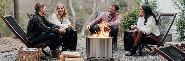 Stay Warm this Winter with the Portable Fire Pits