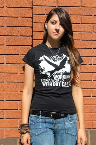 **SALE** World Without Cages t-shirt