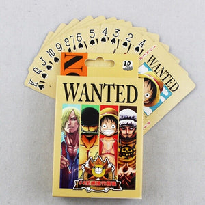 52-Card Deck ONE PIECE WANTED
