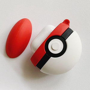 Case for AirPods Pro | PokeBall (Pokemon) - HappyLife Otaku