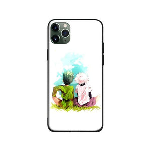 Coque pour iPhone Hunter x Hunter Gon & Kirua Bromance
